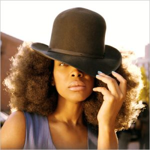 Erykah Badu Bowler Afro Puffs